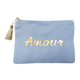 Jozemiek Make-up bag Amour - Blauw