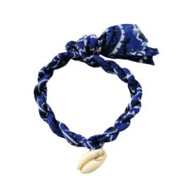 Jozemiek armband Bandana - Cobalt