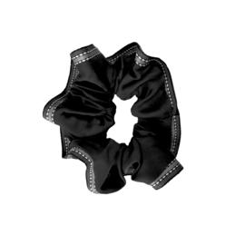 Scrunchie lint zwart