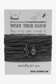 Rakhi choker /wrapbracelet Ultramarine