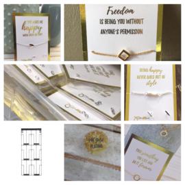GOLDEN CARD COLLECTIE SET (20PCS)met gratis kaartenhouder twv €24,95