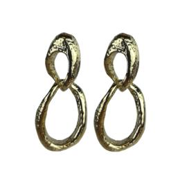 Jozemiek dubbele  hanger - goud of zilver