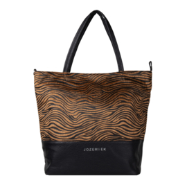 Zebra Shopper brown Jozemiek