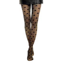 Jozemiek Panty 3Stip zwart