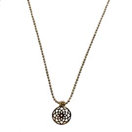 Vintage Gold Necklace  mandela