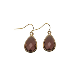 DARE TO BE FABULOUS  teardrop marsala small