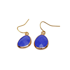 DARE TO BE FABULOUS  teardrop donker blauw
