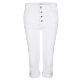 Jozemiek   jeans Ziva- wit
