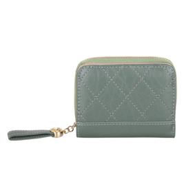 Compacte portemonnee Kimmy - Groen