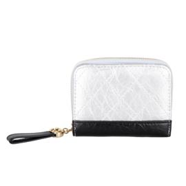 Compacte portemonnee Kimmy - Zilver
