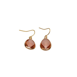 DARE TO BE FABULOUS  teardrop copper small