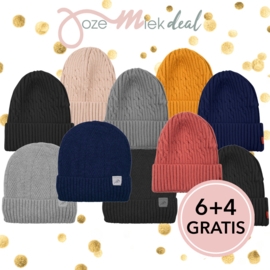 JM DEAL:  beanie set 6 & 4 GRATIS