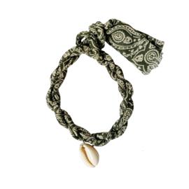 Jozemiek armband Bandana - Olijf
