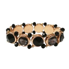 Jozemiek Armband Feline - Zwart