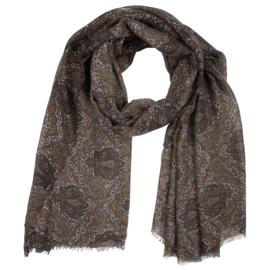 Sjaal paisley -groen