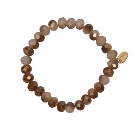 Embrace Siena Brown  8 of 10mm  ( 3 stuks)