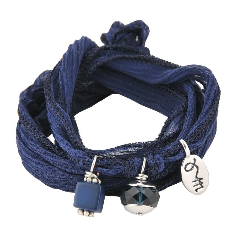 Rakhi Happiness collection: Monaco blue,  Loyal & Faithful  (2PCS)