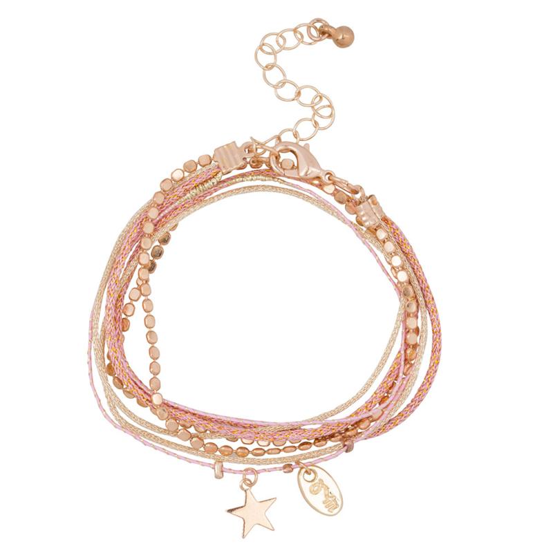 Rakhi star collection: ROSE PINK