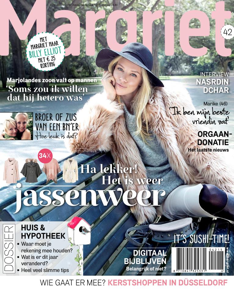 Tijdschrift Margriet 42 cover - oktober 2015.PNG