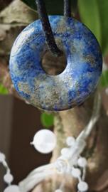 Lapis Lazuli Donut hanger 2 - 2,5 cm