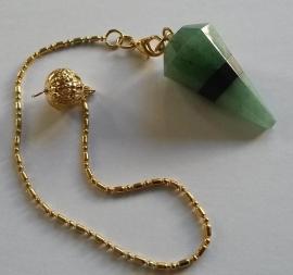 Aventurijn met Jade pendel