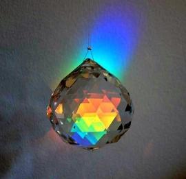 Feng Shui Regenboogkristal bol 4 cm