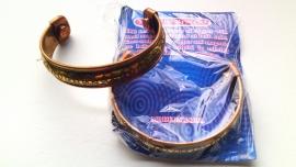Koper magneet armband