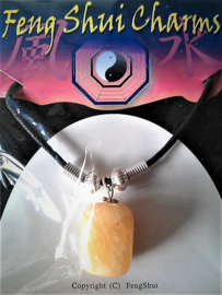 Calciet Oranje Feng Shui hanger