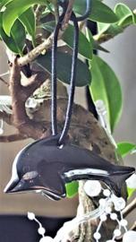 Hematiet Dolfijn hanger 5 cm