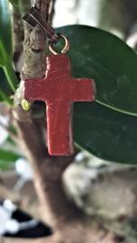 Jaspis Kruis hanger