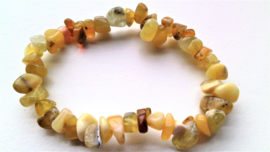 Opaal geel splitarmband