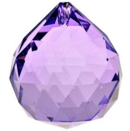 Feng Shui Kristal bol 4 cm Violet
