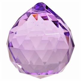 Feng Shui Kristal bol 5 cm Violet