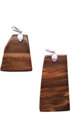 Versteend hout gezondheidshanger 3 cm ( 2 )