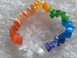 Chakra splitarmband Cateye