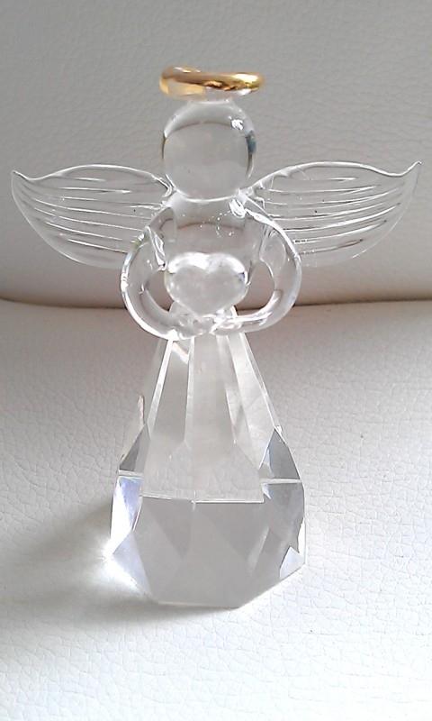 Feng Shui Kristal-Engel pegelvorm
