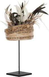 Balinese hoed met schelpen en veren Must Living