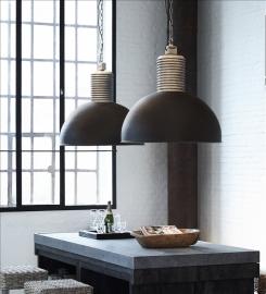Hanglamp Lozz Tierlantijn Lightning XL Mat zwart