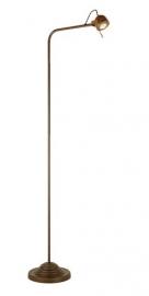 Tierlantijn vloerlamp Spezia Koper