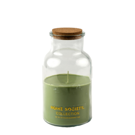 Jar Candle green