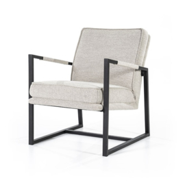 Fauteuil Isaac - beige brave
