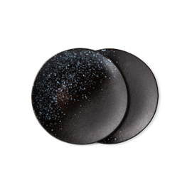 70s ceramics: dessert plates, stars (set of 2)