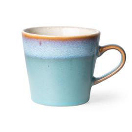 70s ceramics: cappuccino mug, dusk