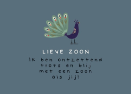 Lieve zoon LUV