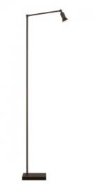 Tierlantijn vloerlamp Sirmione loodkleur