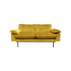 HK LIVING retro sofa 2-zits oker