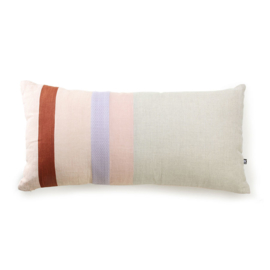 Linen striped cushion B (70x35) TKU2071