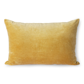 velvet cushion gold (40x60) HK Living