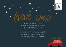 Lieve pap LUV