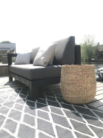 Loungebank Black DUTCHHOME